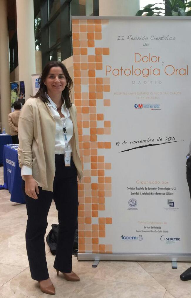 La Dra. Fe Galera Molero presenta dos pósteres…